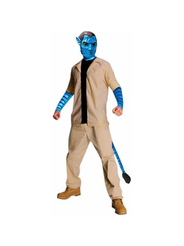 Adult Deluxe Avatar Jake Sully Costume-COSTUMEISH