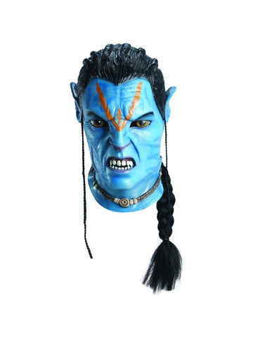 Deluxe Jake Sully Overhead Latex Mask-COSTUMEISH