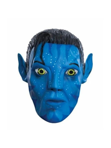 Adult Vinyl Jake Sully 3/4 Mask-COSTUMEISH