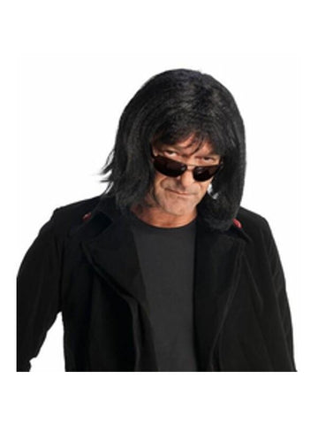 Aging Rock Star Gene Wig-COSTUMEISH