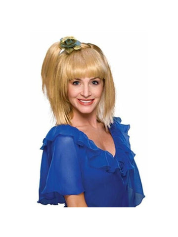 70s Blonde Prom Girl Wig