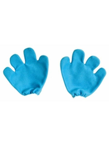 Adult Smurf Costume Gloves-COSTUMEISH