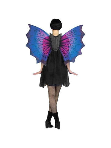 Adult Purple Costume Bat Wings-COSTUMEISH
