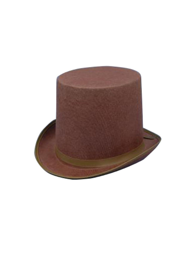 Brown Steampunk Top Hat-COSTUMEISH