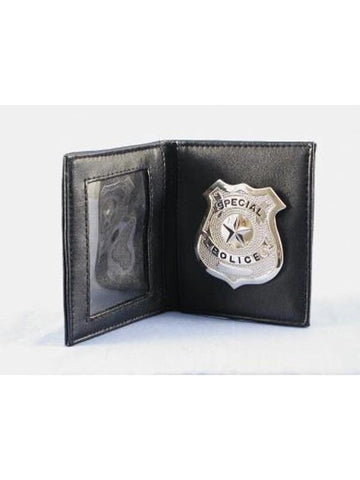 Realistic Cop Badge And ID Holder