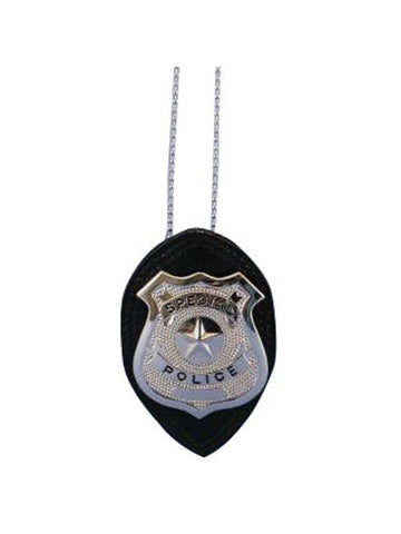 Detective Badge On Chain