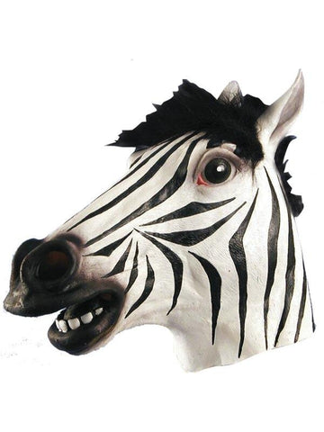 Zebra Costume Mask-COSTUMEISH