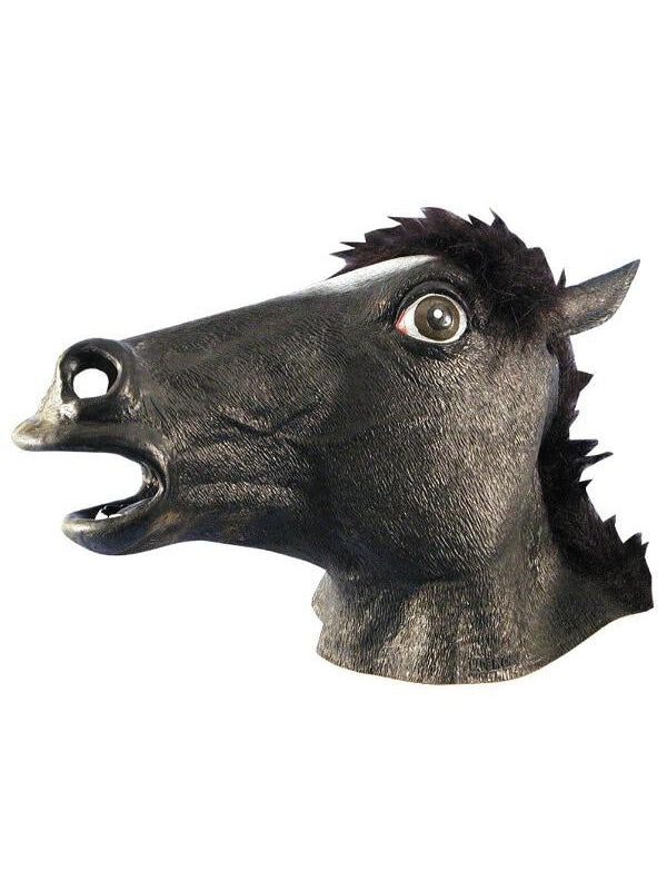 Black Horse Mask-COSTUMEISH