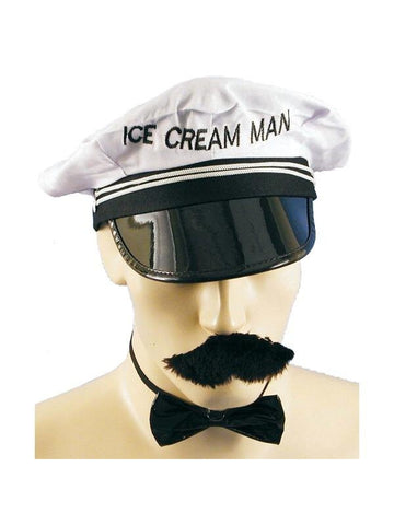 Old Fashion Ice Cream Man Costume-COSTUMEISH