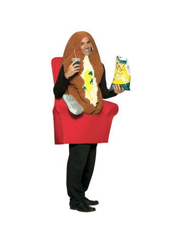 Adult Couch Potato Costume-COSTUMEISH