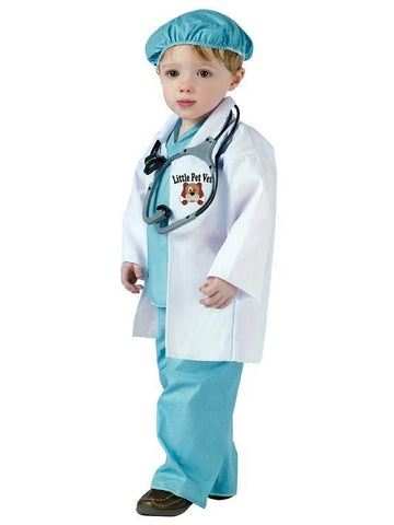 Baby Little Pet Vet Costume-COSTUMEISH