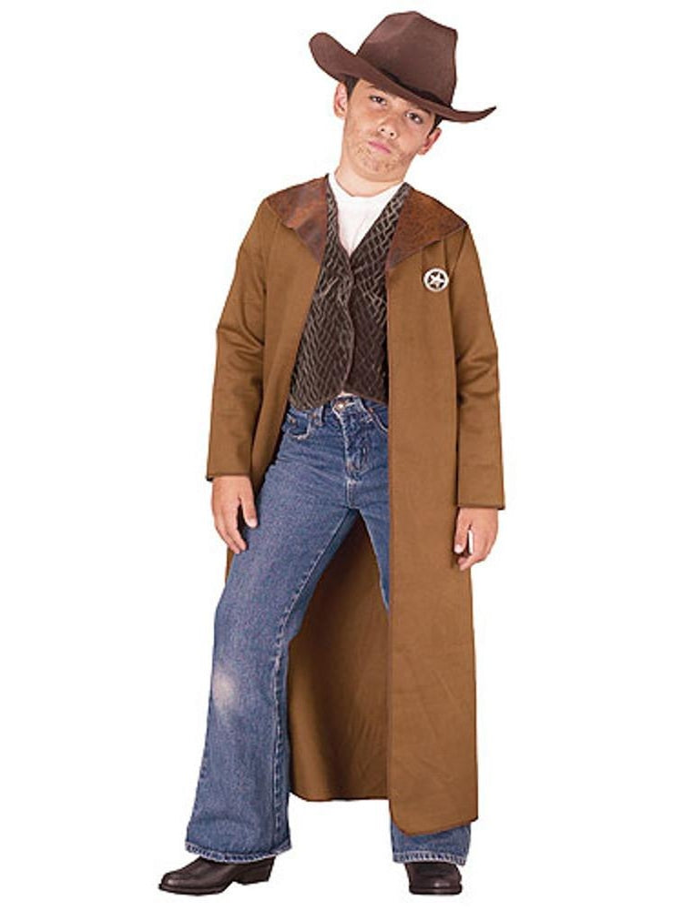 Child Old West Sherrif Costume-COSTUMEISH