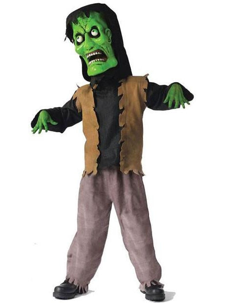 Child Bobble Head Monster Costume-COSTUMEISH