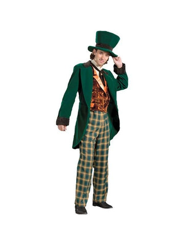 Adult Traditional Mad Hatter Theater Costume