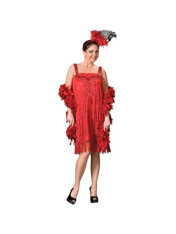 Adult Flapper Girl Theater Costume