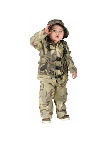 Toddler Delta Force Costume-COSTUMEISH