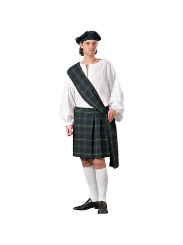 Adult Scottish Kilt Theater Costume