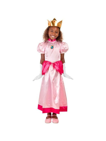 Child Peach Princess Costume-COSTUMEISH