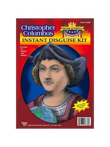 Adult Christopher Columbus Costume Kit-COSTUMEISH