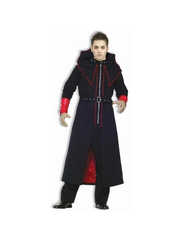 Adult Dark Master Vampire Costume-COSTUMEISH