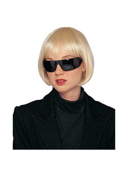 Short Blonde Lady Glamour Wig-COSTUMEISH