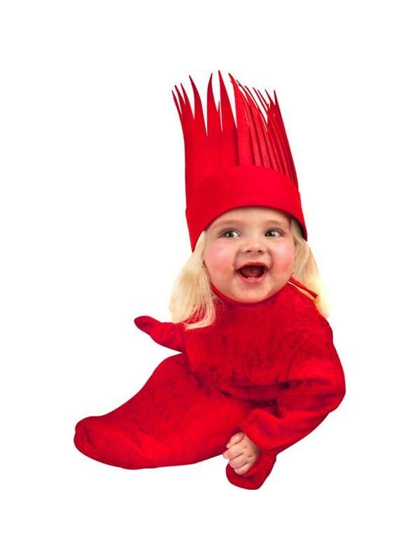 Infant Red Queen Bunting Costume-COSTUMEISH