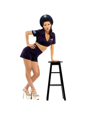 Adult WWII Blue Navy Pinup Girl Theater Costume