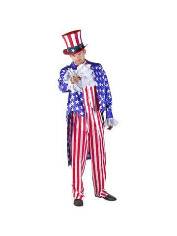 Adult Uncle Sam Theater Costume
