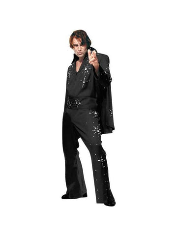 Adult Elvis Jumpsuit & Cape Theater Costume