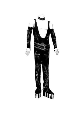 Adult 70's Glam Rock Cat Man Theater Costume