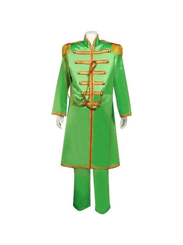 Adult Green Sgt. Pepper Theater Costume