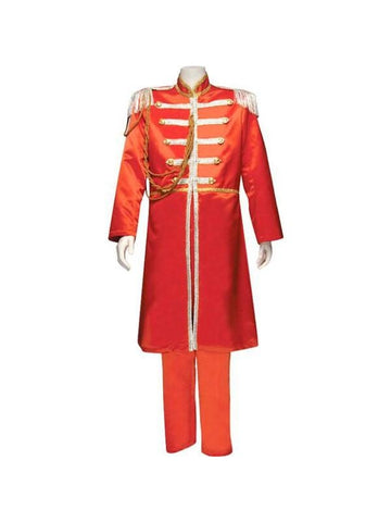 Adult Red Sgt. Pepper Theater Costume