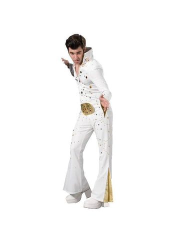 Adult Black Elvis Theater Costume