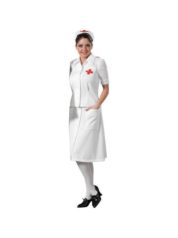 Adult WWII Nurse Theater Costume