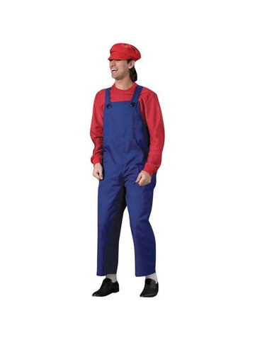 Adult Adult Mario Theater Costume