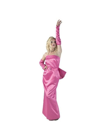 Adult Pink Diva Dress Theater Costume
