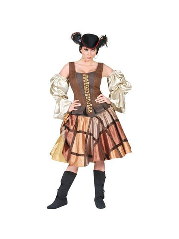 Adult Womens Pirate Skirt Theater Costume