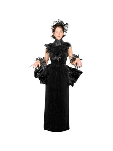 Adult Elegant Gothic Witch Theater Costume