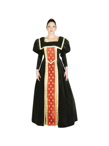 Adult Guinevere Plus Size Theater Costume