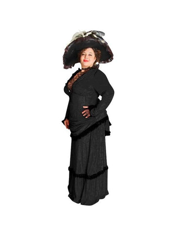 Adult Plus Size Victorian Era Theater Costume Dress