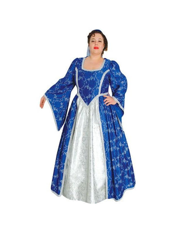 Adult Plus Size Renaissance Maiden Theater Costume