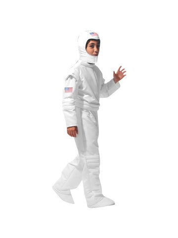 Child White Astronaut Theater Costume