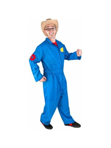 Adult Blue Imagination Jumpsuit Costume-COSTUMEISH