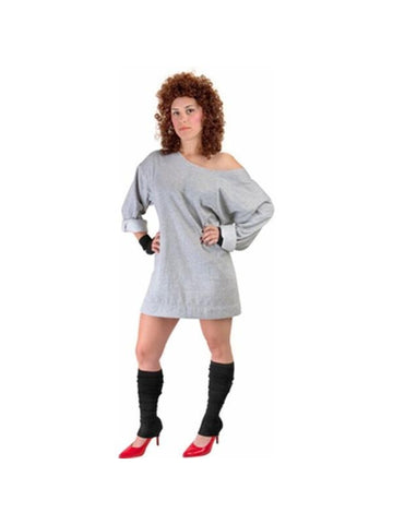 Adult 80's Flash Dance Costume-COSTUMEISH