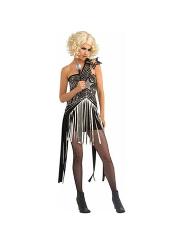 Adult Lady Gaga Star Dress Costume
