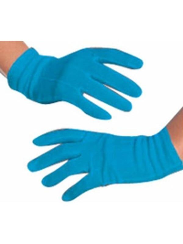 Lady Gaga Blue Gloves-COSTUMEISH
