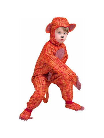 Toddler Sock Monkey Costume