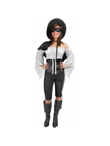 Adult Womens Zorro Costume