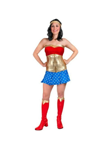 Adult Sexy Wonder Woman Costume-COSTUMEISH