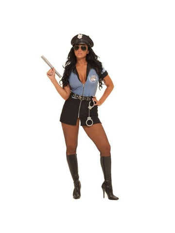 Adult Sexy Cop Costume-COSTUMEISH